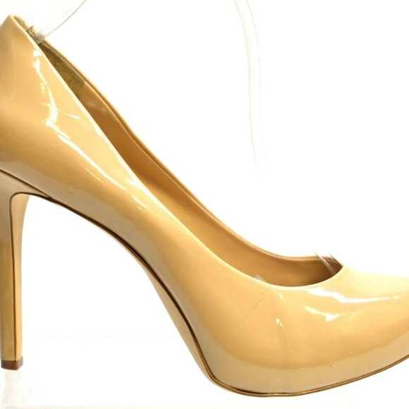 BCBGeneration TWIST Women's NUDE Synthetic PUMPS US 8.5